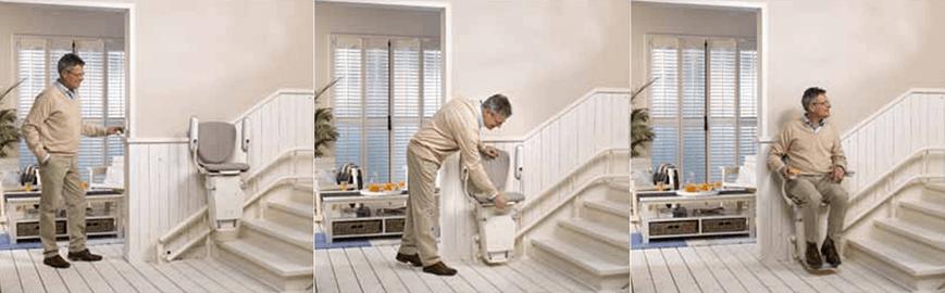 C mo adaptar un hogar con escaleras para las personas for Escaleras de piscinas para personas mayores